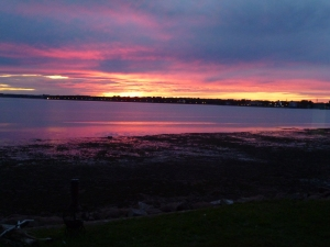 Sunset over Charlottetown Harbour